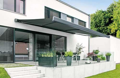 Sonnenschutz der Firma Gevorm in Mettenheim