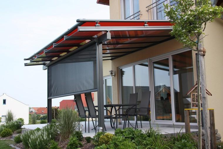 Klassischer Sonnenschutz der Firma Gevorm in Mettenheim