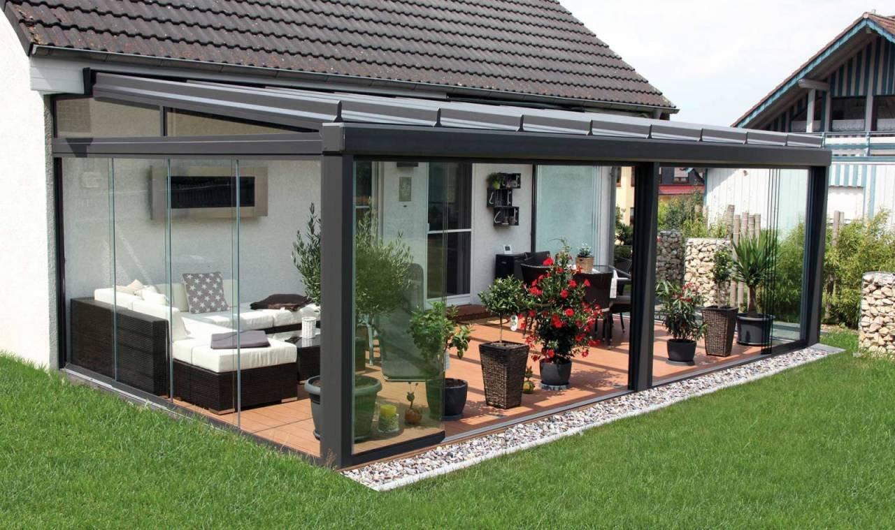 Individuelle Terrassenbedachung durch die Firma Gevorm in Mettenheim