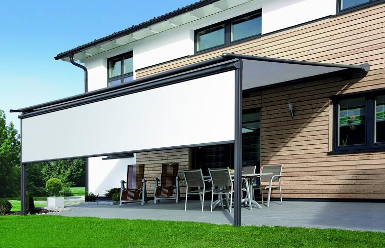 Raffiniertes Sonnenschutzdesign für Ihre Terrasse durch die Firma Gevorm in Mettenheim